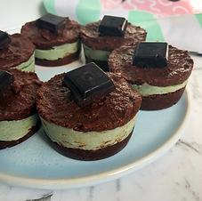 Raw Choc Mint Cups