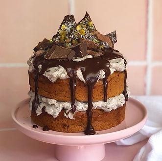 Vegan Chocolate Naked Cake