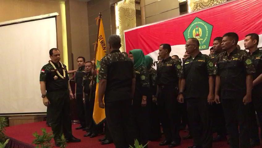 Pelantikan DPD HIPAKAD Sumatera Barat