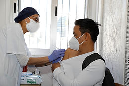 APRIL 13, 2021 - Foreign national vaccination center closes after protecting nearly 20,000 people