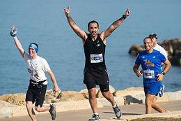 FEBRUARY 4, 2021 - Runners worldwide warm up for the Tel Aviv Samsung Marathon 2021
