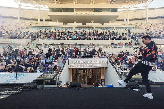 MARCH 7, 2021 - Tel Aviv-Yafo hosts Green Pass concert series at Bloomfield Stadium