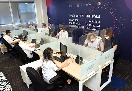 OCTOBER 6, 2020 - Tel Aviv-Yafo opens municipal COVID-19 epidemiological investigation center
