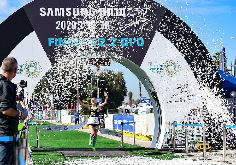 Tel Aviv Marathon 2020 (Credit Kapaim Ac