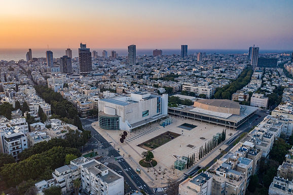 "APRIL 21, 2021 - ""Habima"" national theater transferred to ownership of Tel Aviv-Yafo Municipality"