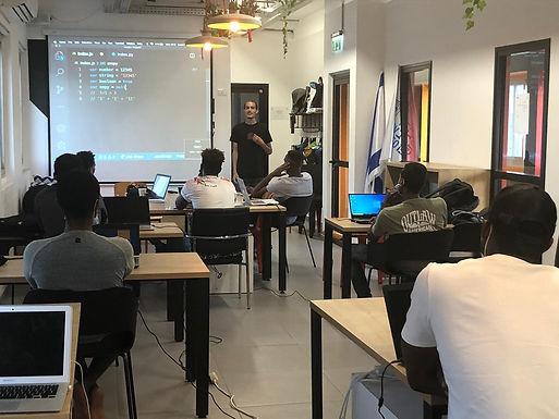 NOVEMBER 24, 2020 - Tel Aviv-Yafo Launches Innovative Coding Program For Asylum Seekers