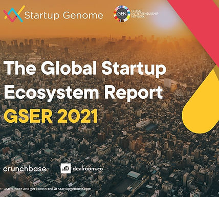 SEPTEMBER 22, 2021 - Startup Genome and Tel Aviv Global Publish 2021 Global Startup Ecosystem Report
