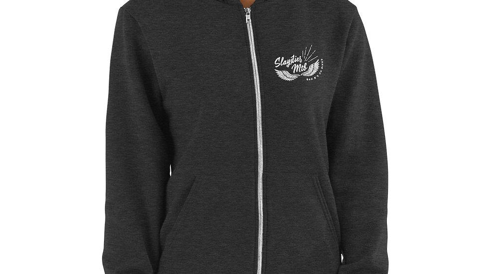Zip Up Slay Sweater