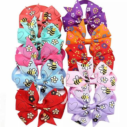 Bee 🐝 Princess Pinwheel Bow Ties