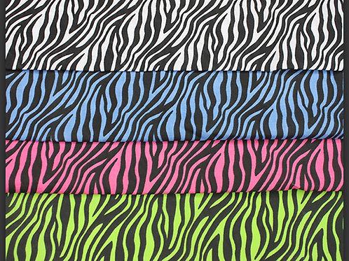 Zebra 🦓 Print Necktie Bandanas