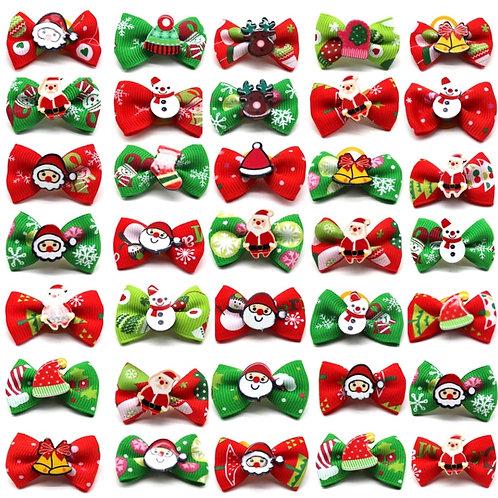 Christmas 🎅🏻 Top Knot Bows