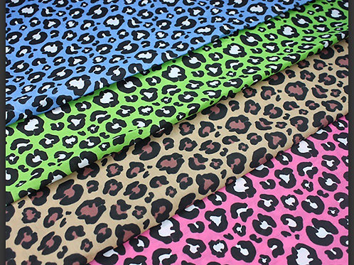 Leopard 🐆 Print Collar Bandanas