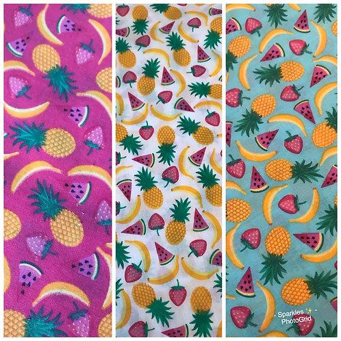 Fruity Necktie Bandanas