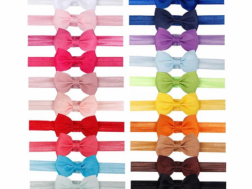 Elastic Bow Ties