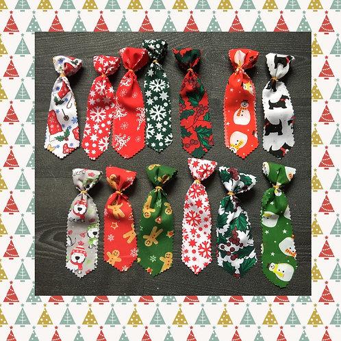 Christmas Collar Ties