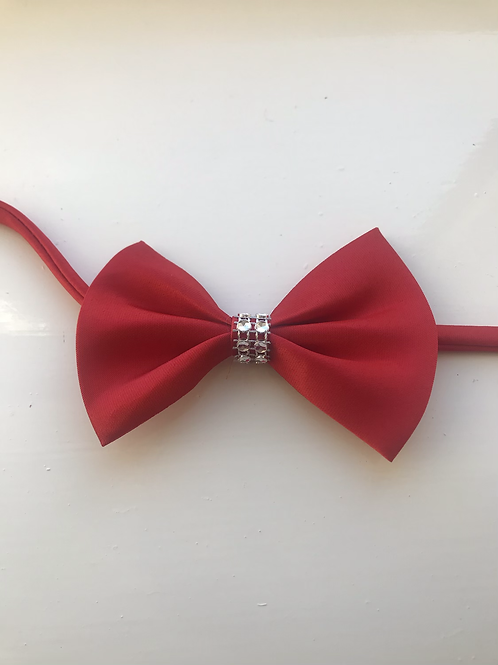 Red Christmas Sparkle ❇️ Bow Ties