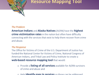 New Tribal Resource Mapping Project!