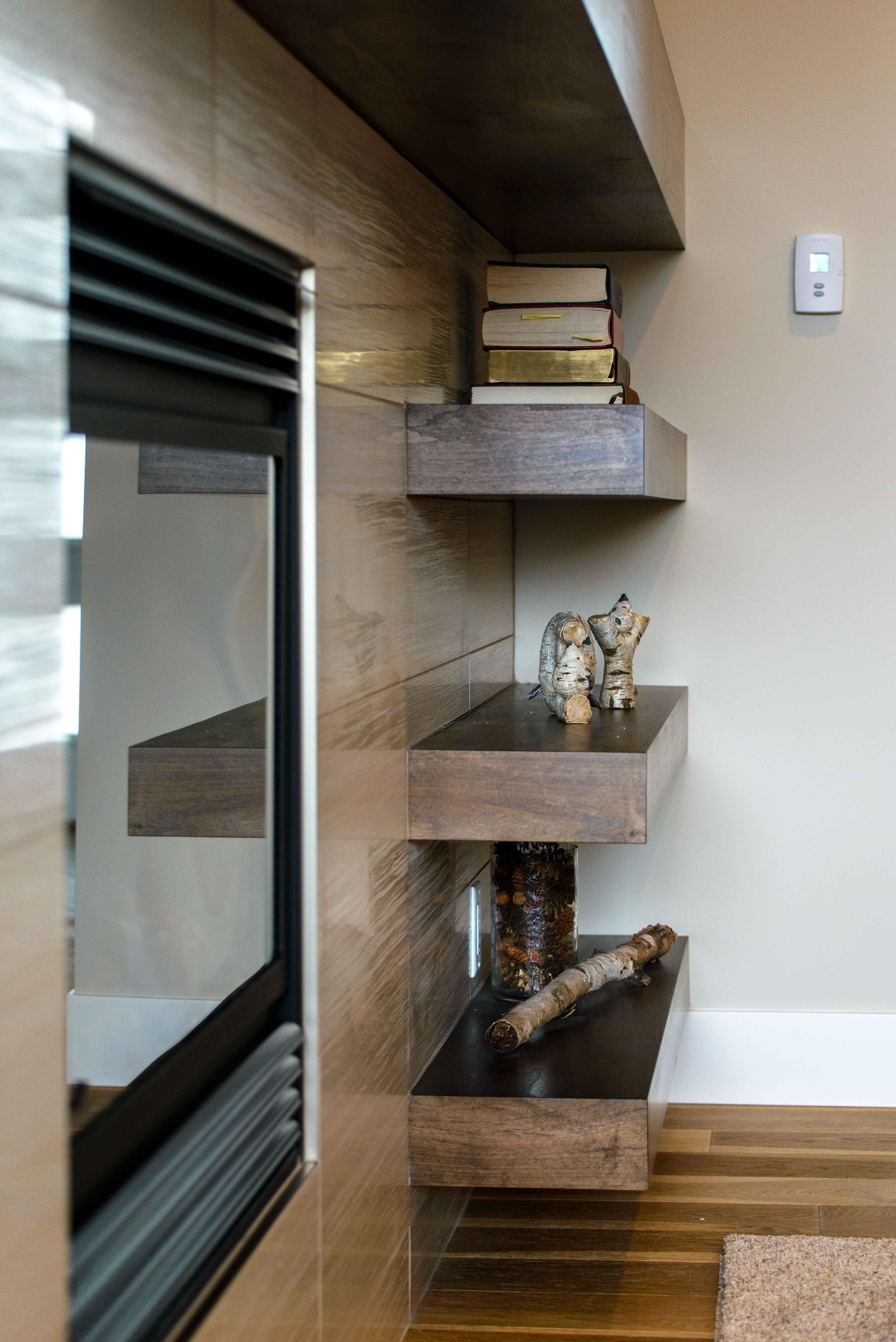Custom built shelving & storage