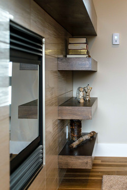 Custom built shelving & storage