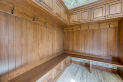 Mudroom entrance cabinetry