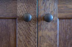 Custom cabinet pulls & hardware