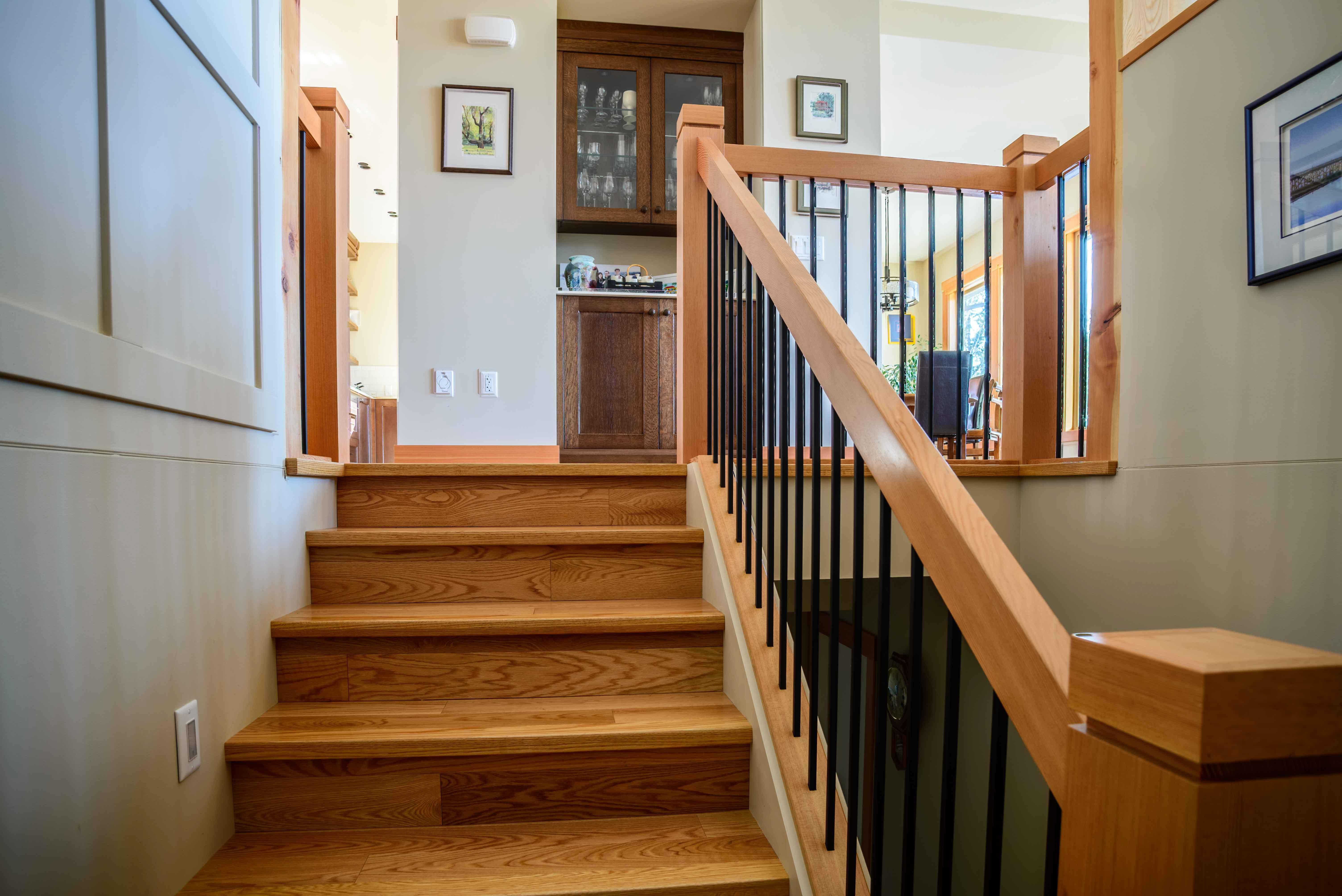 Shuswap Contemporary handrailings