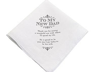 new dad hankie wedding gift