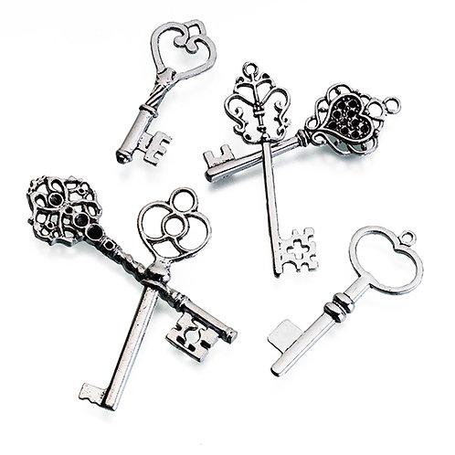 Set of 24 Silver Keys