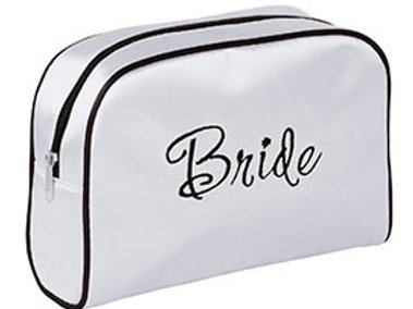 black white bride travel bag gift
