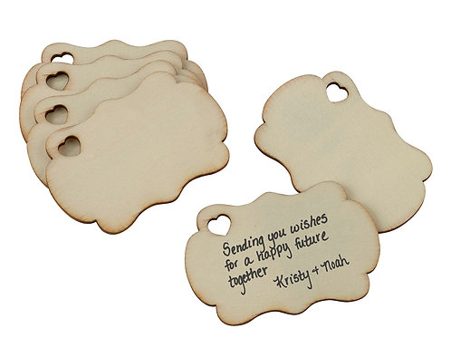 Set of 36 Guest Signing Tags