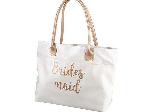 white gold wedding bridesmaid gift