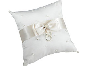 Scattered Pearl Pillow - Ivory