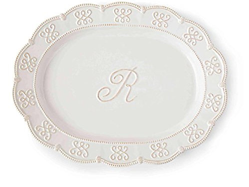 Initial Oval Platter R