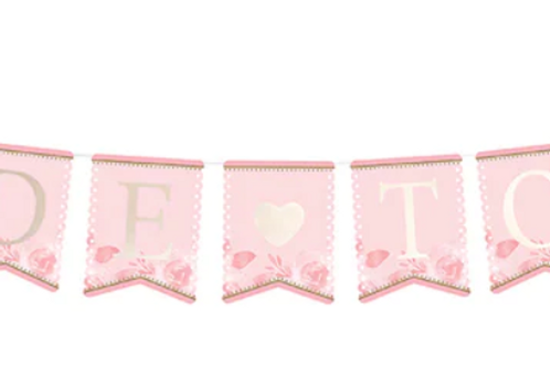 Bridal Shower Bride to Be Bunting