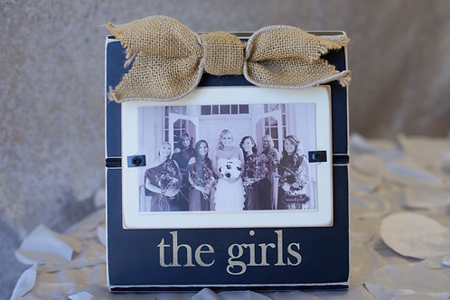 the girls bridesmaids picture frame