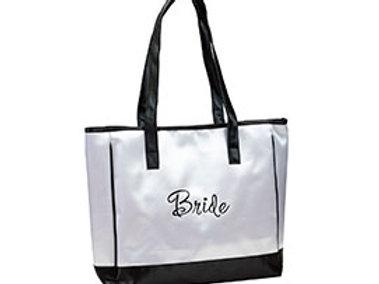 white bride tote bag wedding gift idea i do boutique cypress