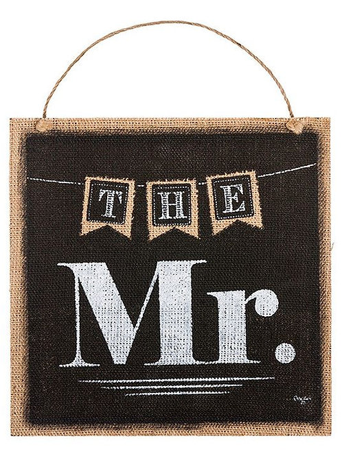 the mr., the mrs., black wedding sign, mr., hanging sign, wedding sign