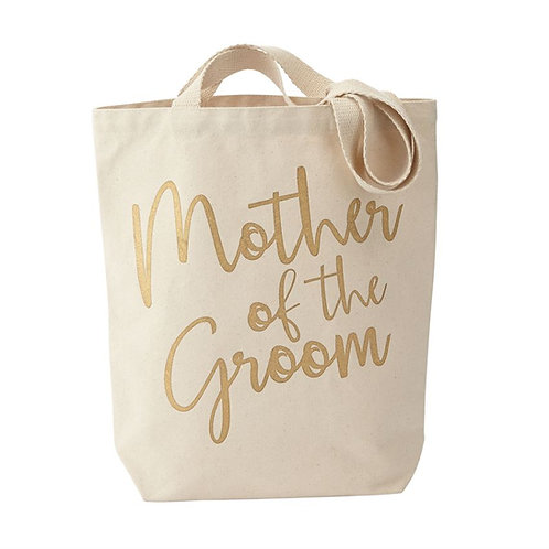 mother of the groom tote bag gold wedding gift ideas