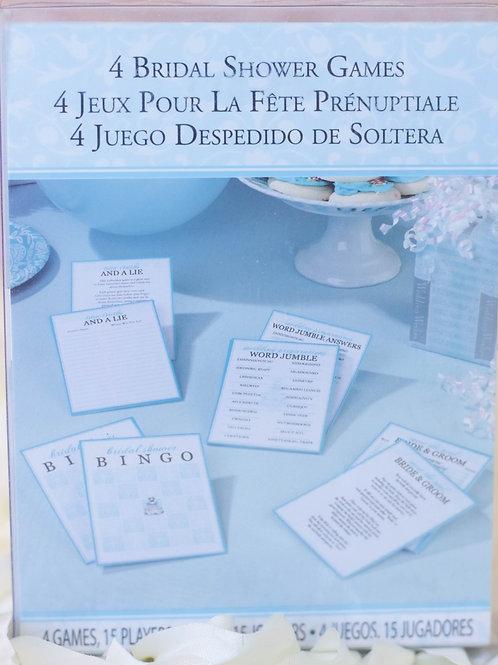 4 Bridal Shower Games