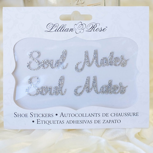 soul mates wedding shoe stickers photo ideas i do boutique