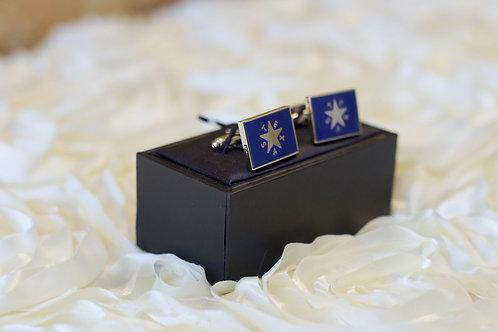 blue texas star cuff links wedding gift ideas groom groomsman