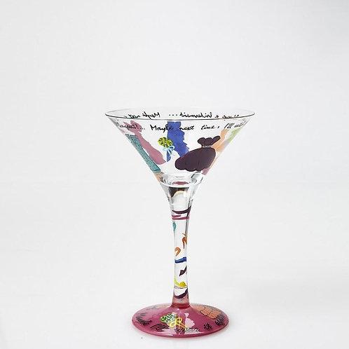 "Lolita ""Always a Bridesmaid"" Martini Glass"
