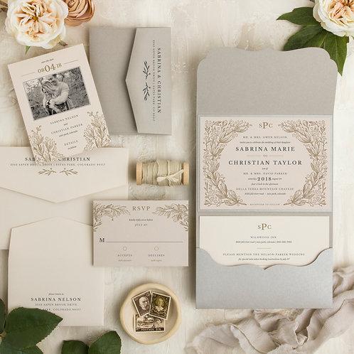 floral ivory garden rustic modern elegant wedding invitations i do boutique cypress tx houston wedding save the date monogram