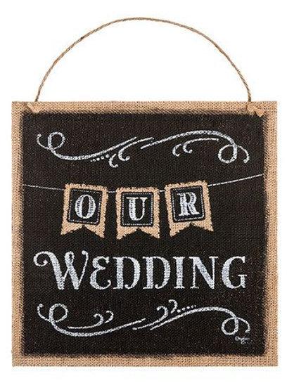 black burlap sign, wedding sign, the wedding, hanging sign, reception decor, wedding decor
