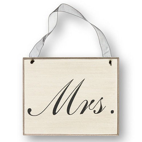 black and white wedding, mr. sign, hanging wedding sign, wedding decor, reception decor, wedding chair sign, groom