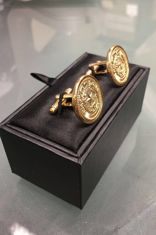 texas state gold cuff links gift ideas