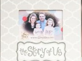 The Story of Us Picture Frame