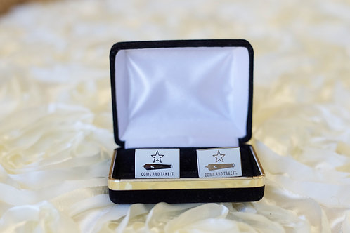 gonzales cuff links come and take it gift ideas