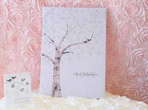 Wedding Guest Book Alternative Signing Tree