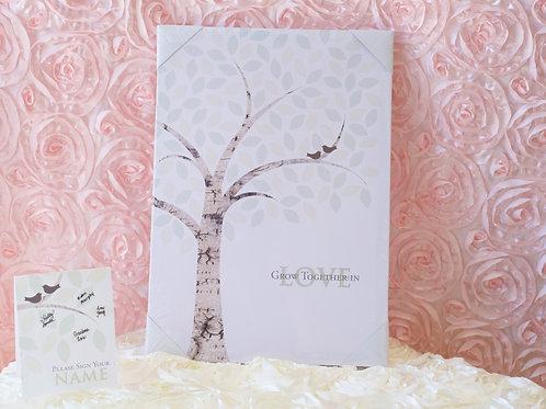Wedding Guest Book Alternative Signing Tree